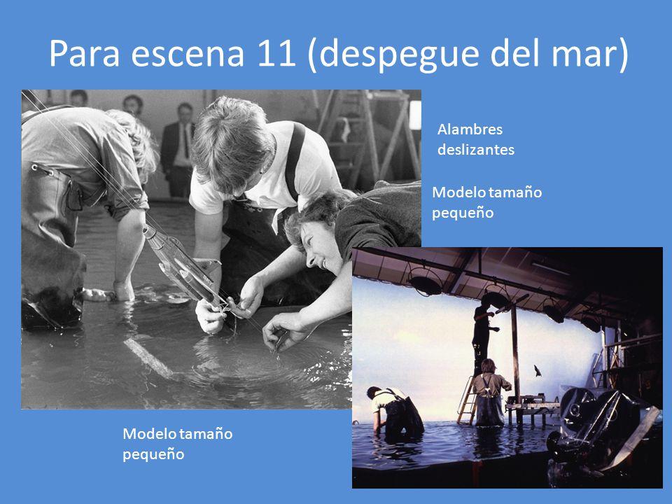 Para escena 11 (despegue del mar)