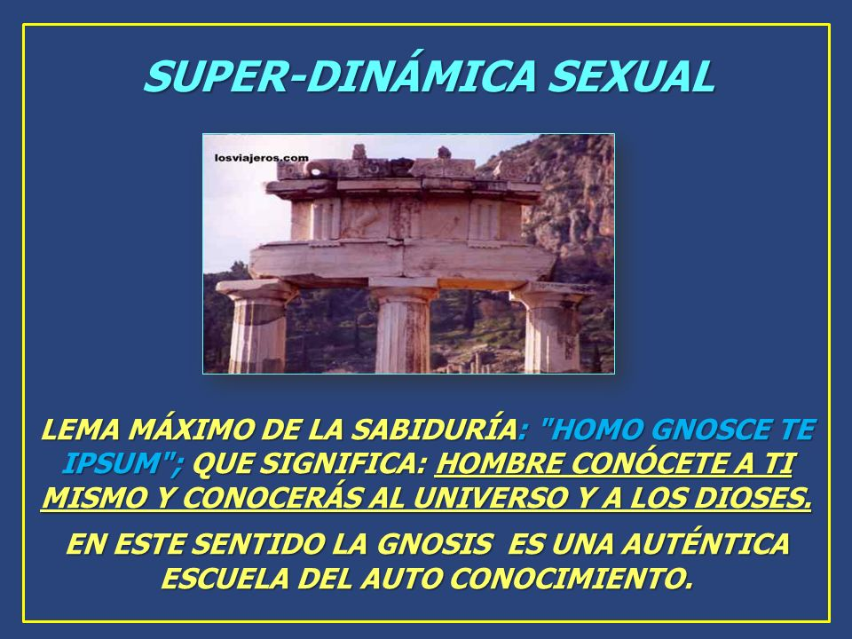 SUPER-DINÁMICA SEXUAL