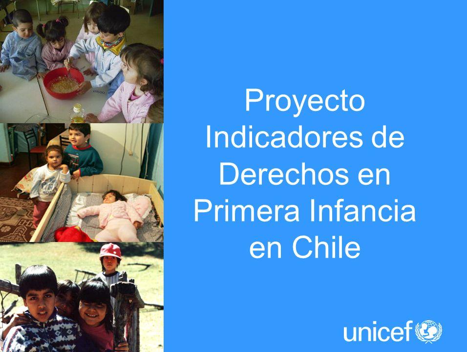 Proyecto Indicadores de Derechos en Primera Infancia