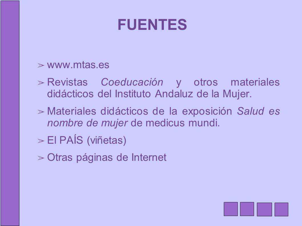 FUENTES www.mtas.esw.juntadeandalucia.es/educacion