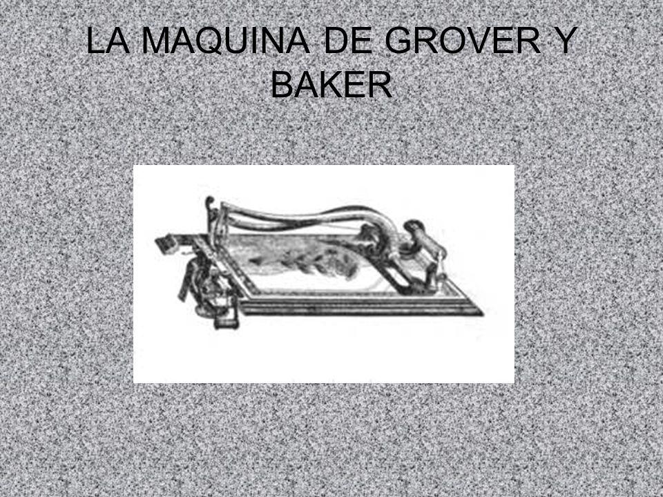 LA MAQUINA DE GROVER Y BAKER