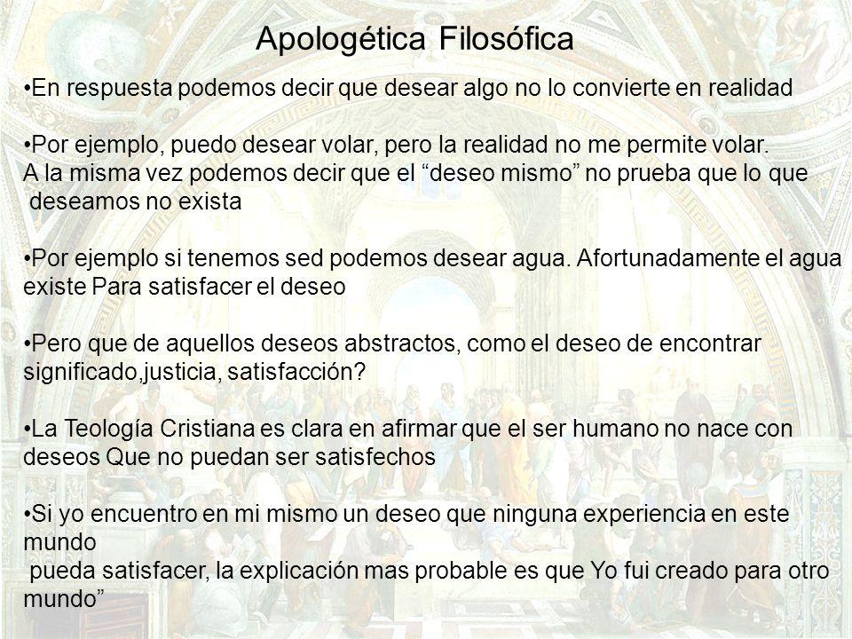 Apologética Filosófica