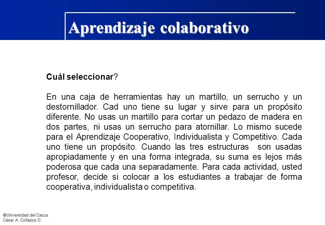Aprendizaje colaborativo