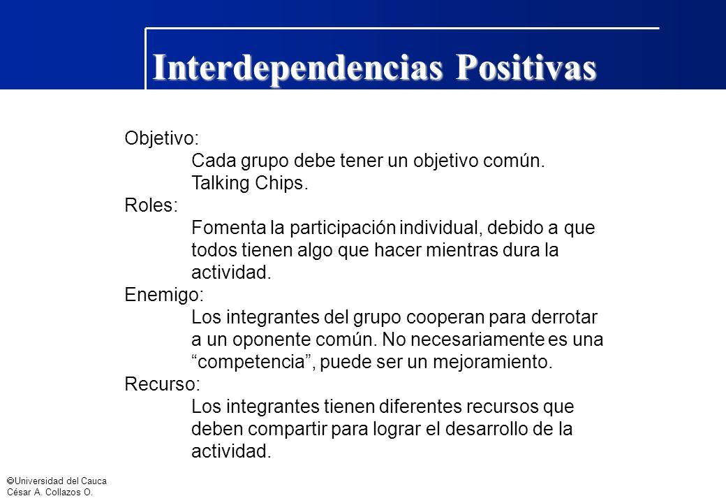 Interdependencias Positivas