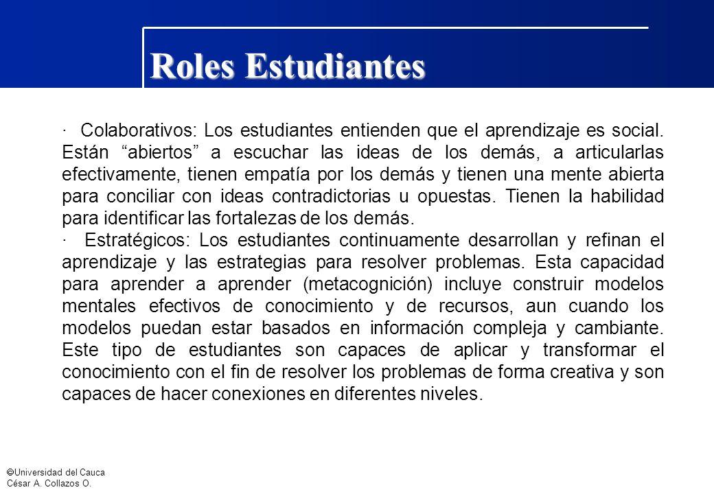 Roles Estudiantes