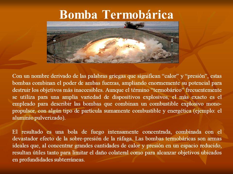 Bomba Termobárica