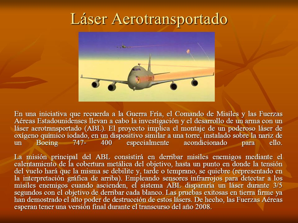 Láser Aerotransportado