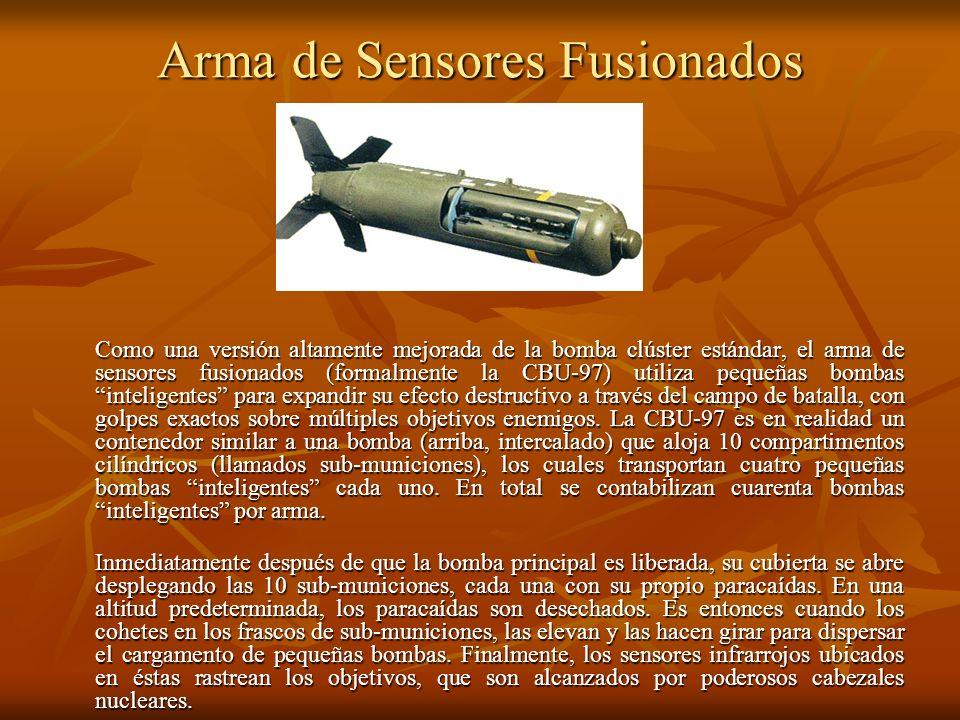 Arma de Sensores Fusionados