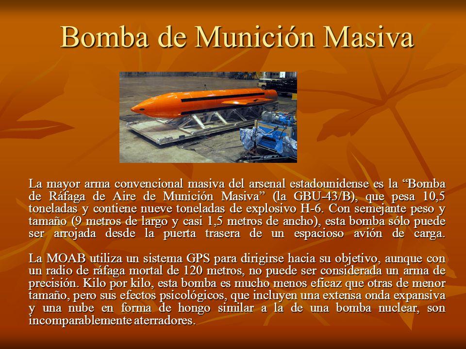 Bomba de Munición Masiva