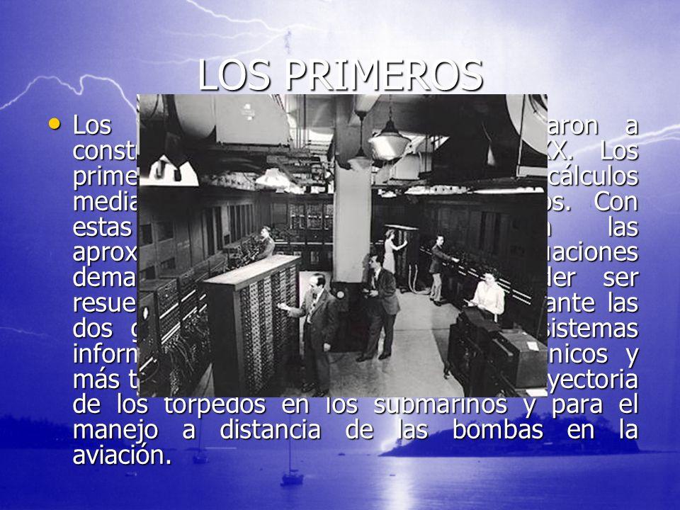 LOS PRIMEROS