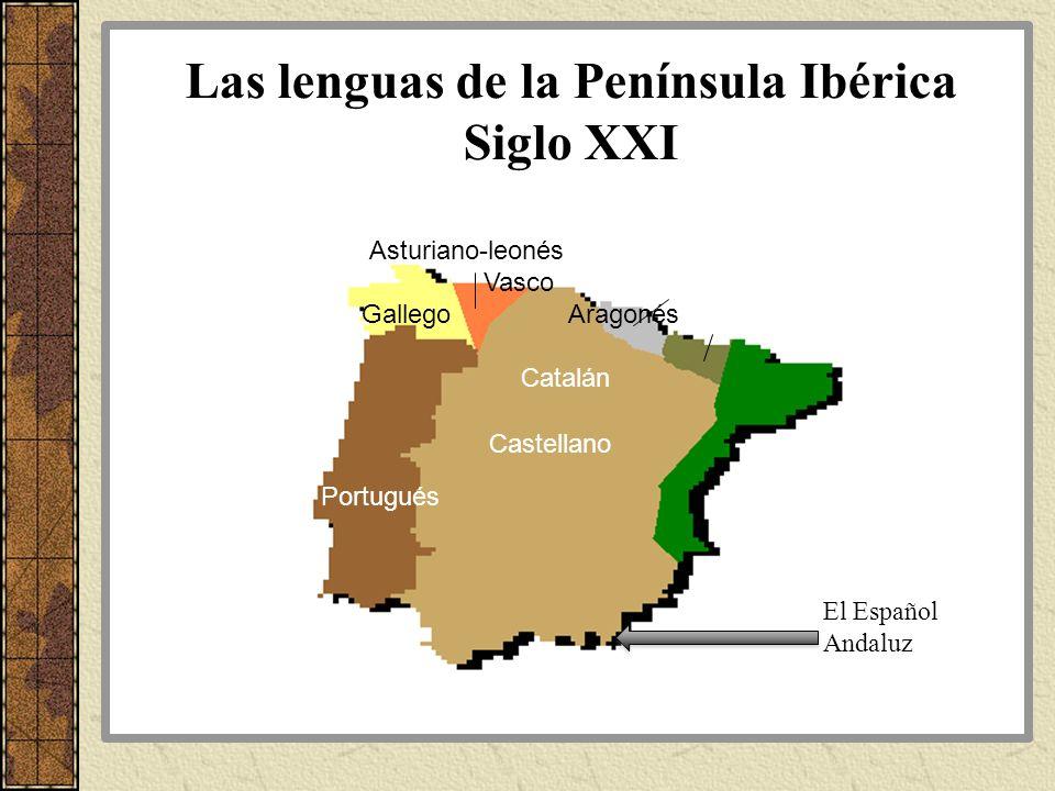 Las lenguas de la Península Ibérica Siglo XXI