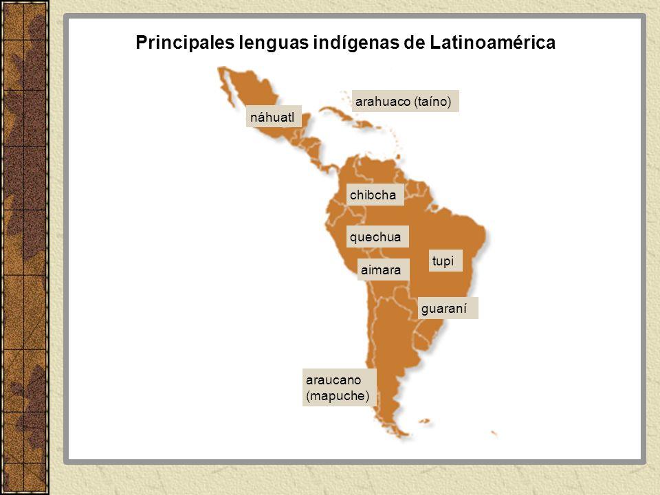 Principales lenguas indígenas de Latinoamérica