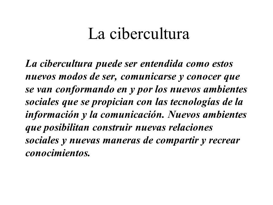 La cibercultura