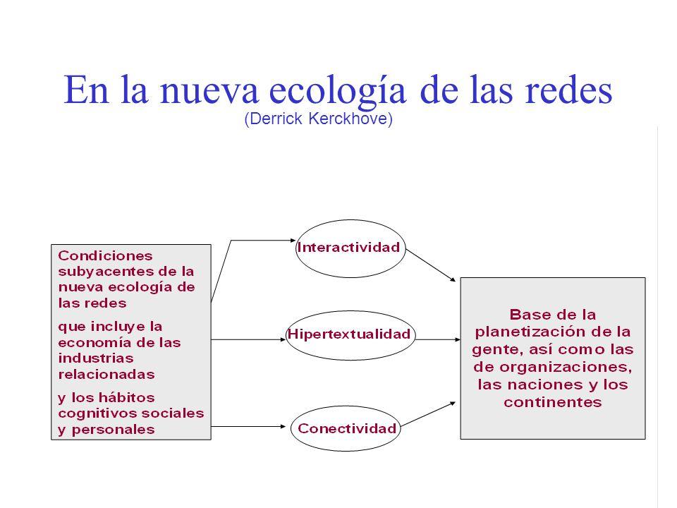 En la nueva ecología de las redes