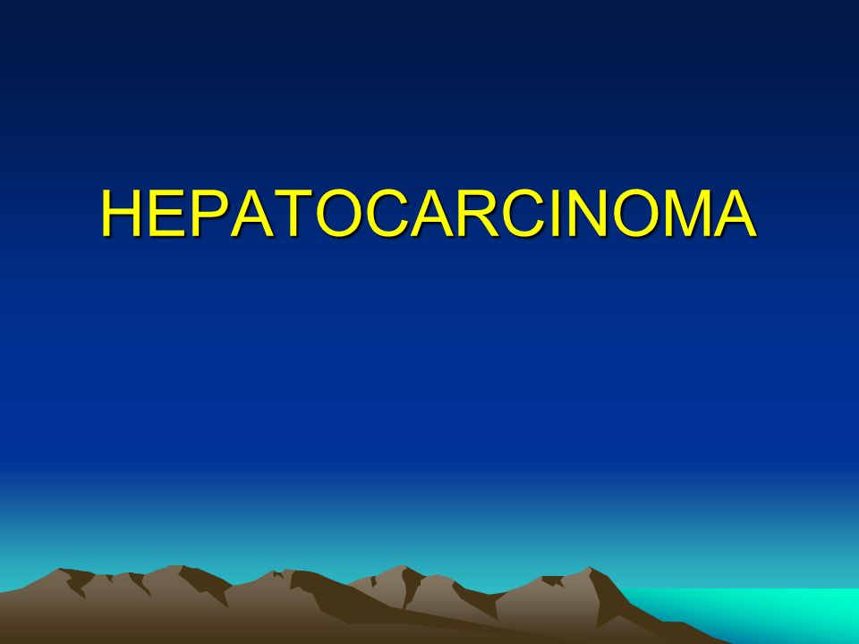 HEPATOCARCINOMA 26