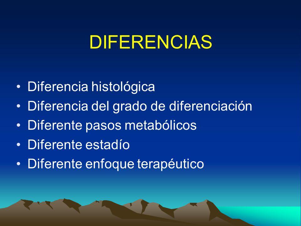DIFERENCIAS Diferencia histológica