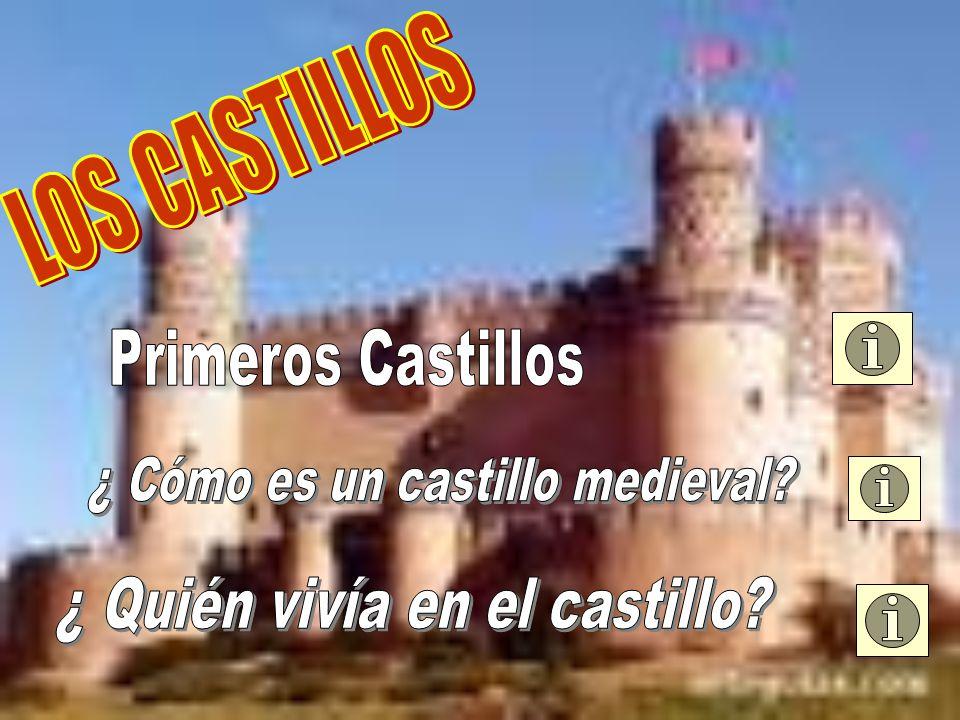 ¿ Cómo es un castillo medieval