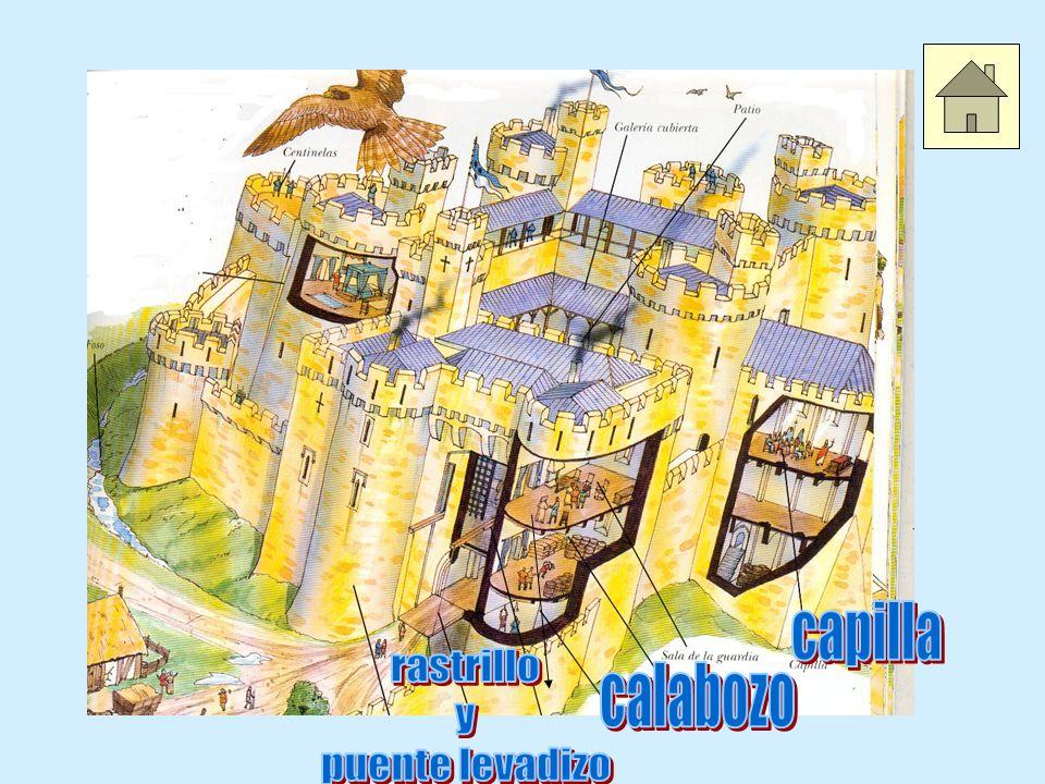 capilla rastrillo y puente levadizo calabozo