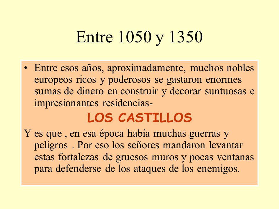 Entre 1050 y 1350
