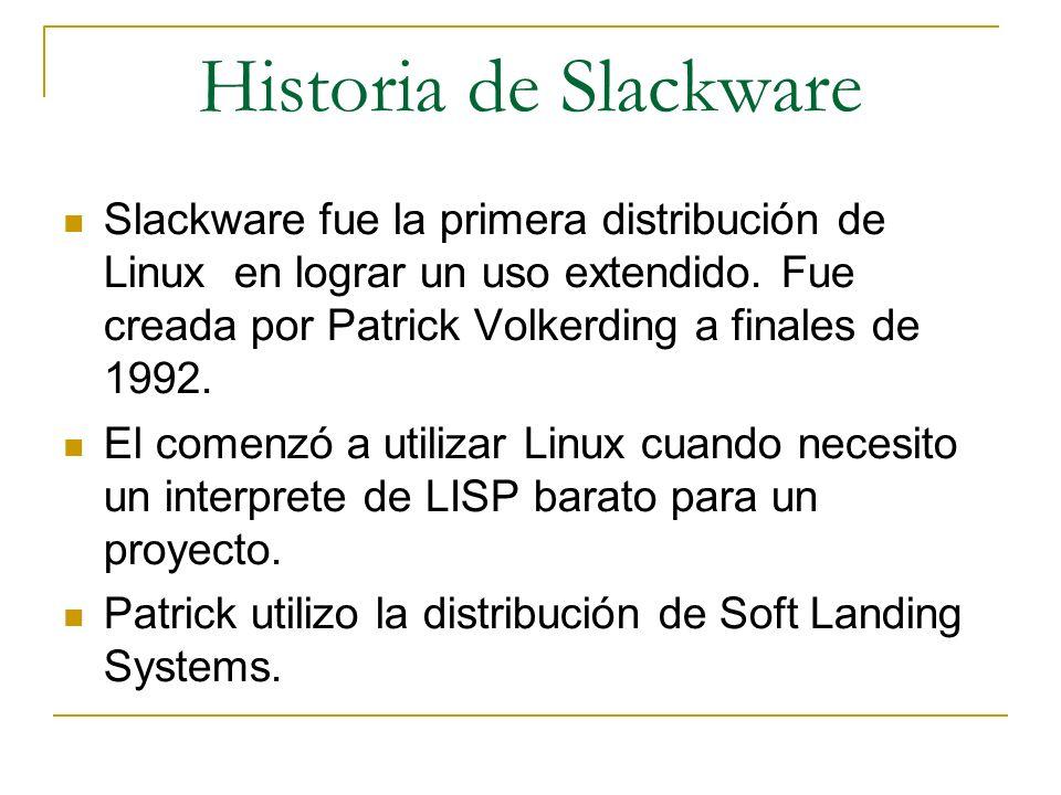 Historia de Slackware
