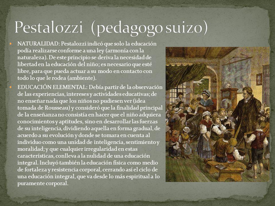 Pestalozzi (pedagogo suizo)