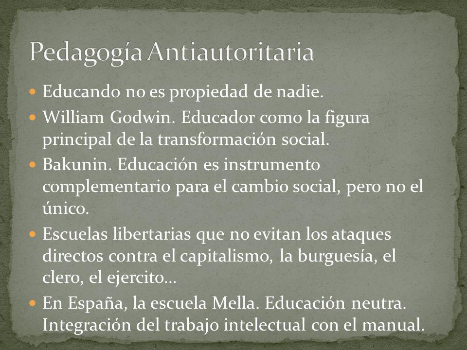 Pedagogía Antiautoritaria