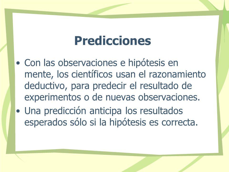Predicciones
