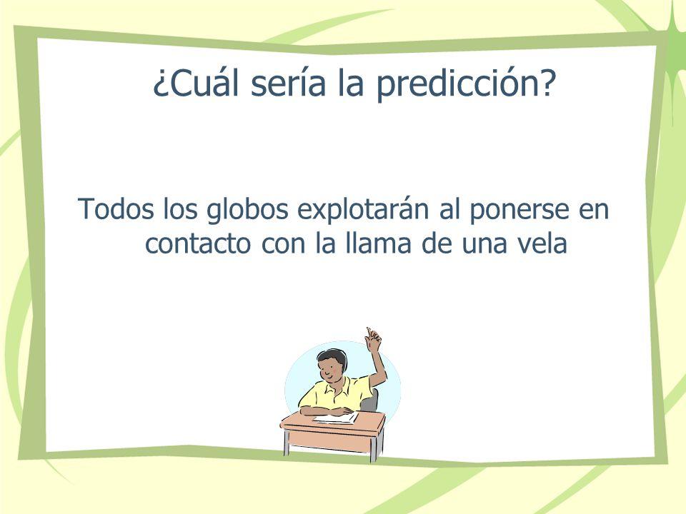 ¿Cuál sería la predicción
