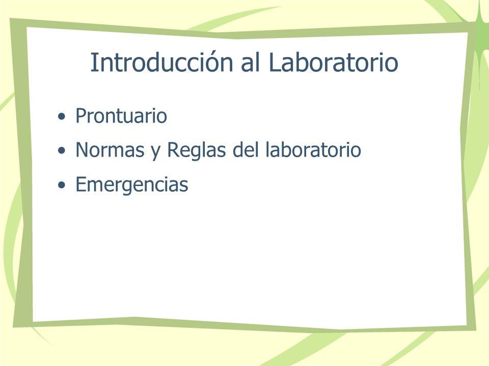 Introducción al Laboratorio