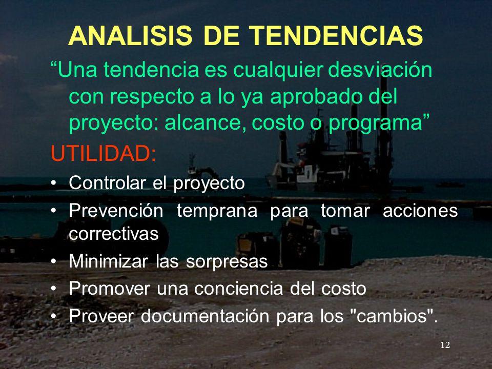 ANALISIS DE TENDENCIAS