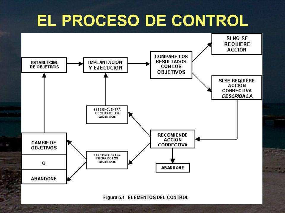 EL PROCESO DE CONTROL