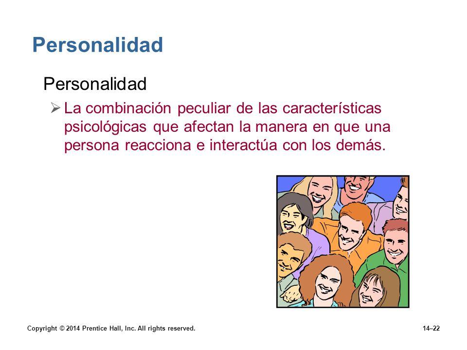 Personalidad Personalidad