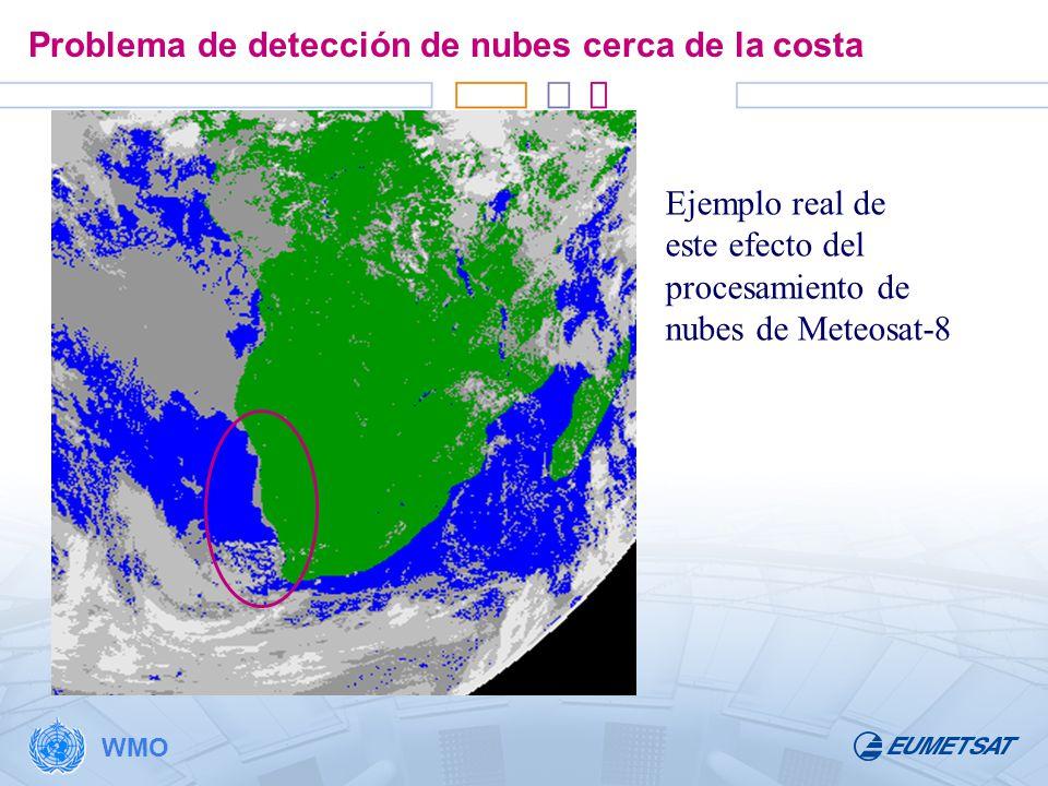 Problema de detección de nubes cerca de la costa