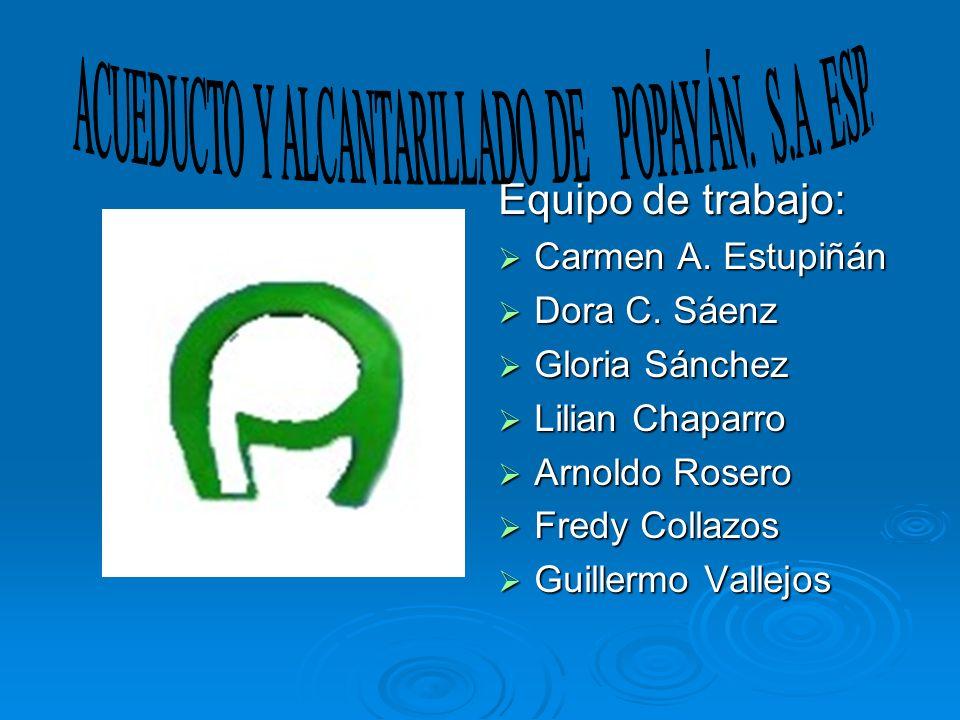 ACUEDUCTO Y ALCANTARILLADO DE POPAYÁN. S.A. ESP.