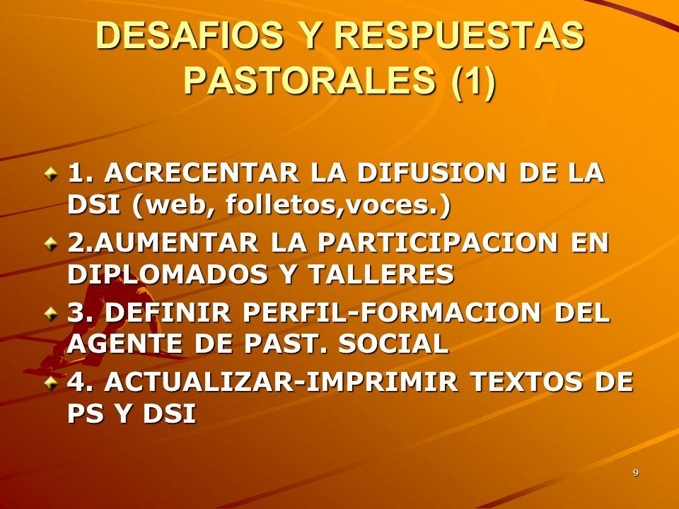 DESAFIOS Y RESPUESTAS PASTORALES (1)