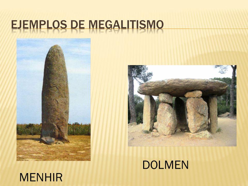 Ejemplos de megalitismo
