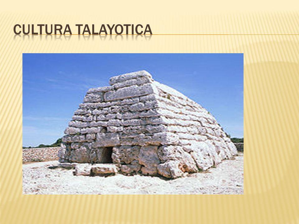 CULTURA TALAYOTICA