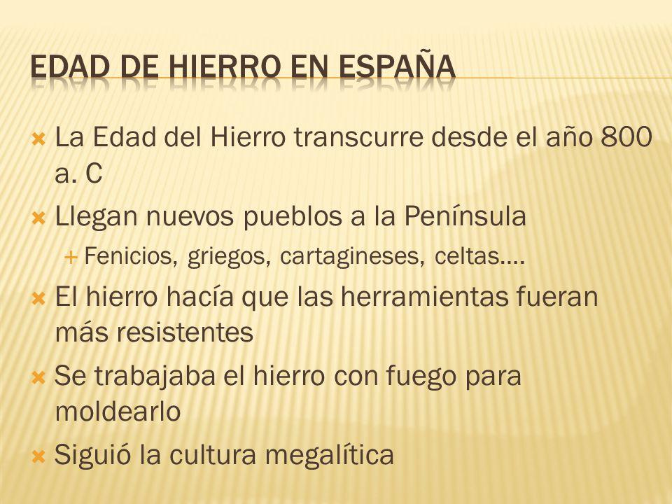 EDAD DE HIERRO EN ESPAÑA