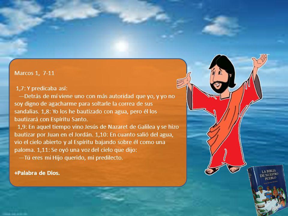 Marcos 1, 7-11
