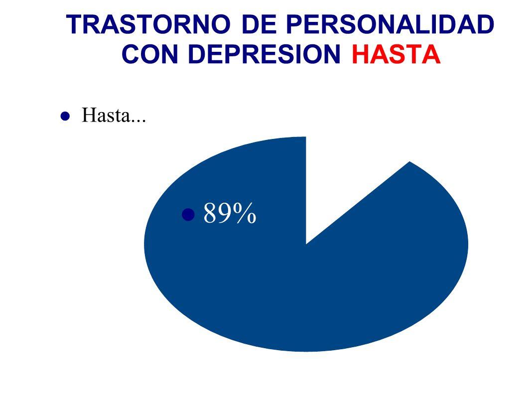TRASTORNO DE PERSONALIDAD CON DEPRESION HASTA