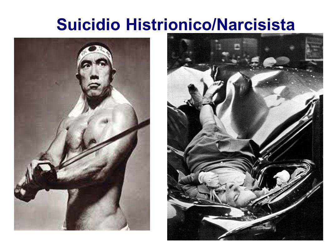 Suicidio Histrionico/Narcisista