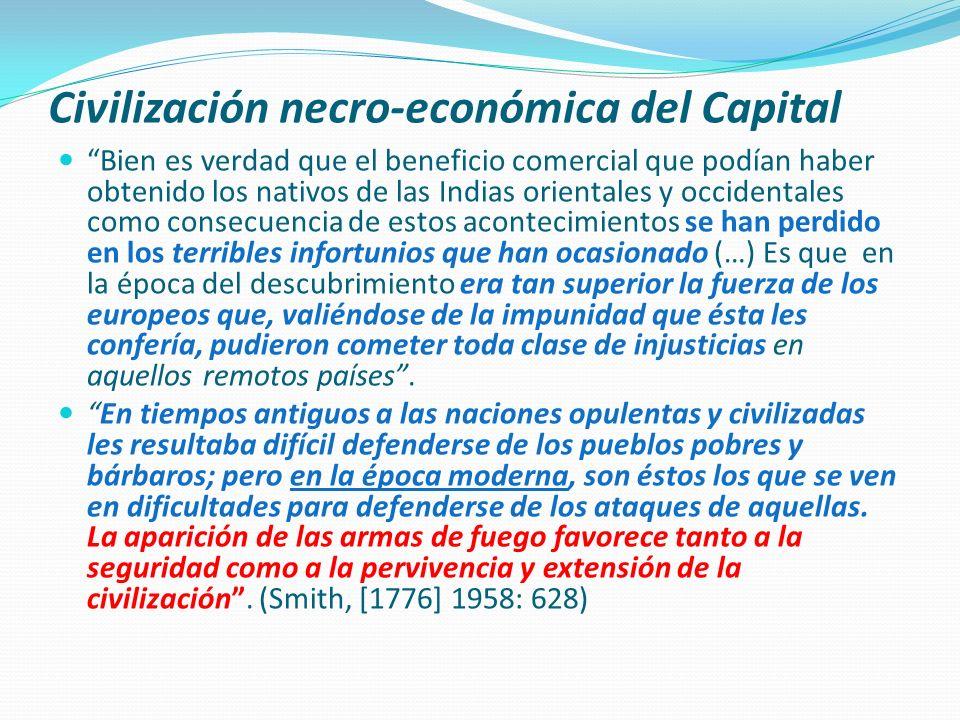 Civilización necro-económica del Capital