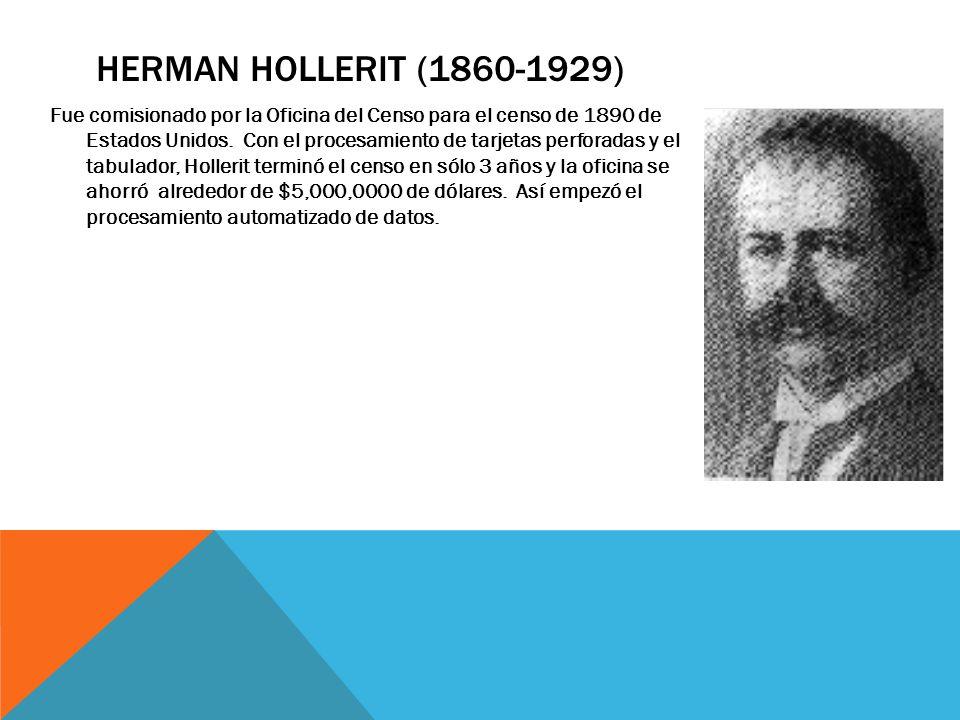 Herman Hollerit (1860-1929)