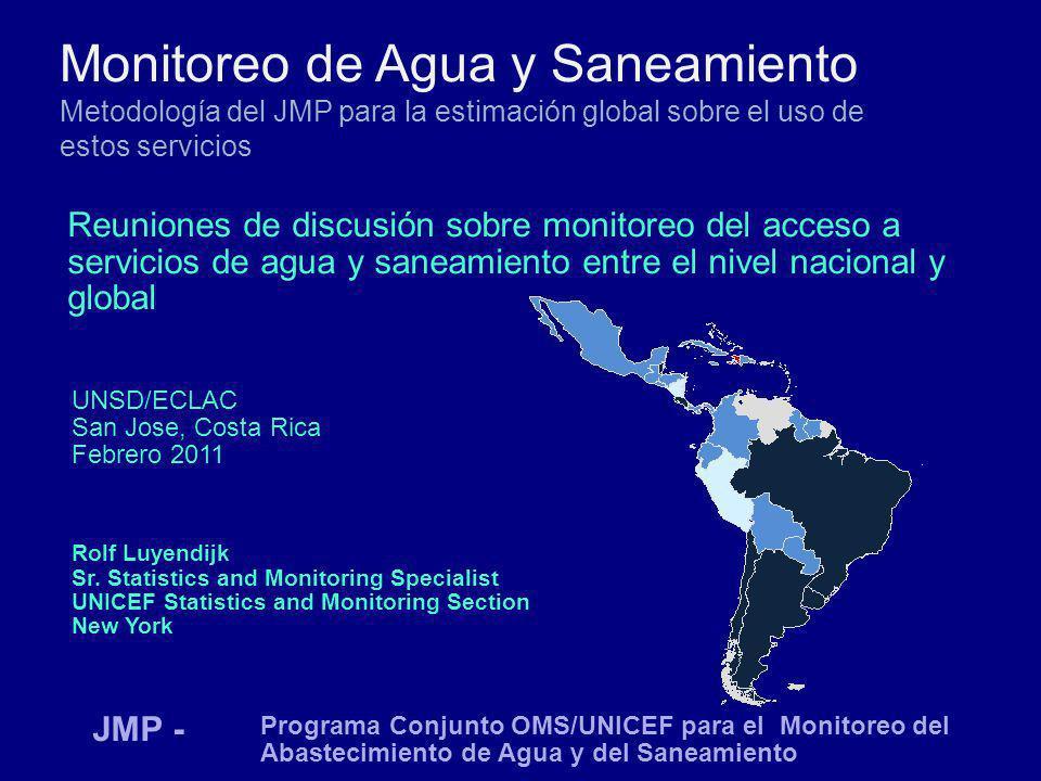 Monitoreo de Agua y Saneamiento