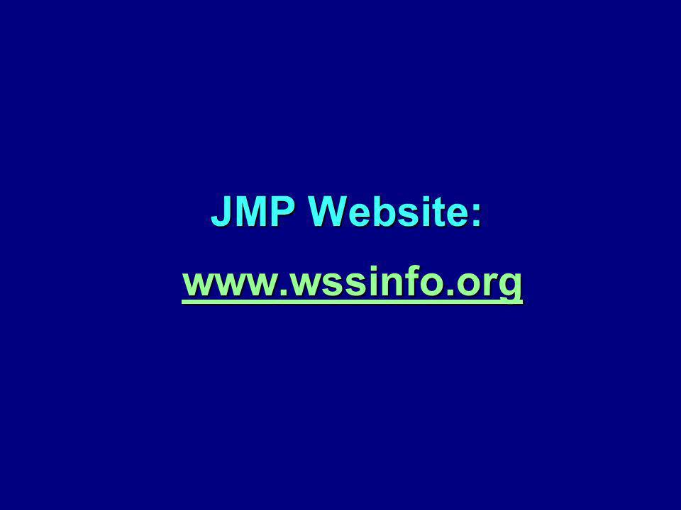 JMP Website: www.wssinfo.org