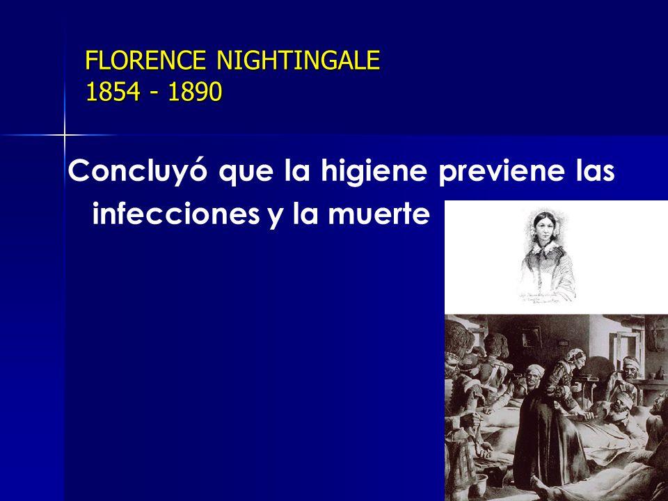 FLORENCE NIGHTINGALE 1854 - 1890