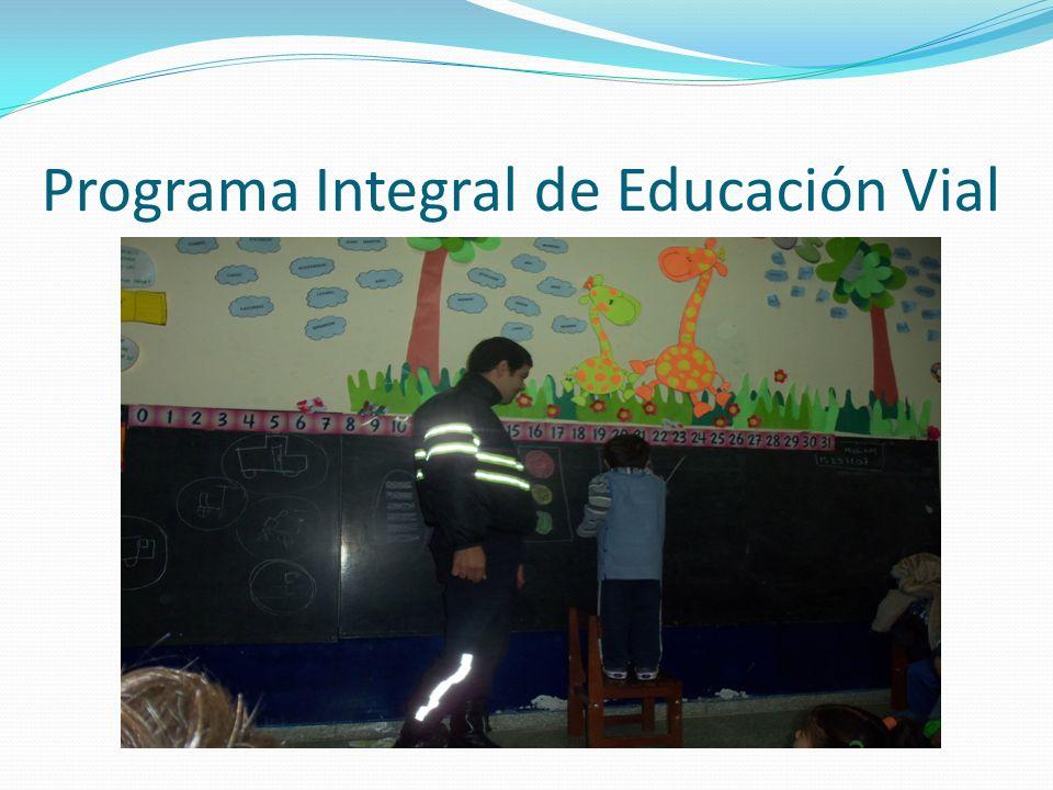 Programa Integral de Educación Vial
