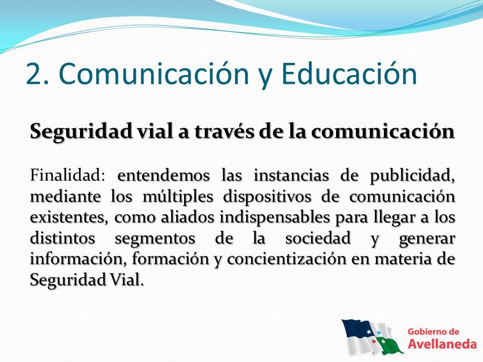 2. Comunicación y Educación