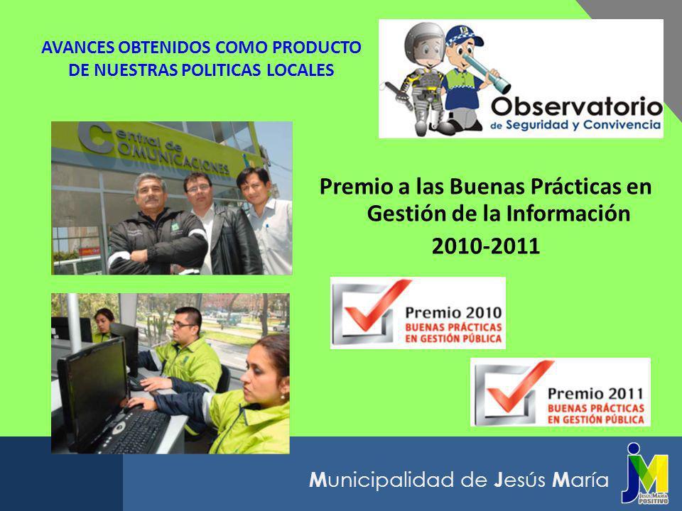 AVANCES OBTENIDOS COMO PRODUCTO DE NUESTRAS POLITICAS LOCALES