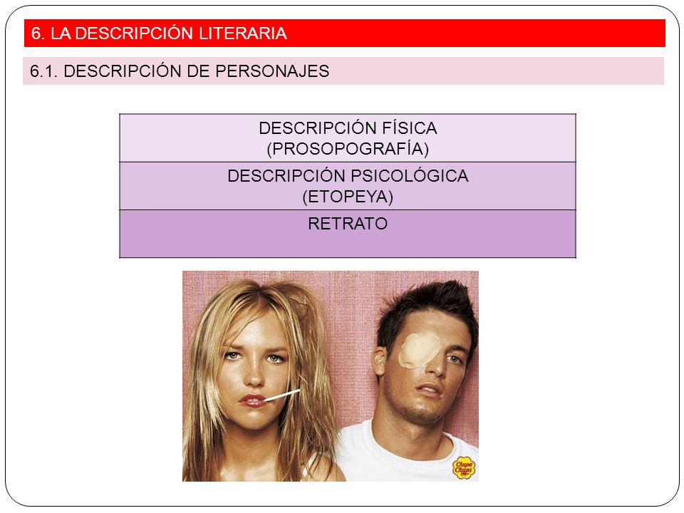 DESCRIPCIÓN PSICOLÓGICA